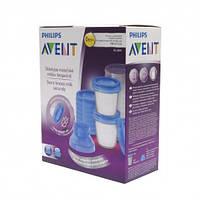 10 многоразовых контейнеров для хранения грудного молока, 10х180 мл Avent 3931153