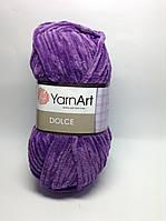 Пряжа dolce - цвет фиолетовый