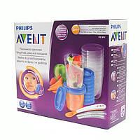 20 многоразовых контейнеров для хранения продуктов Avent 3931154