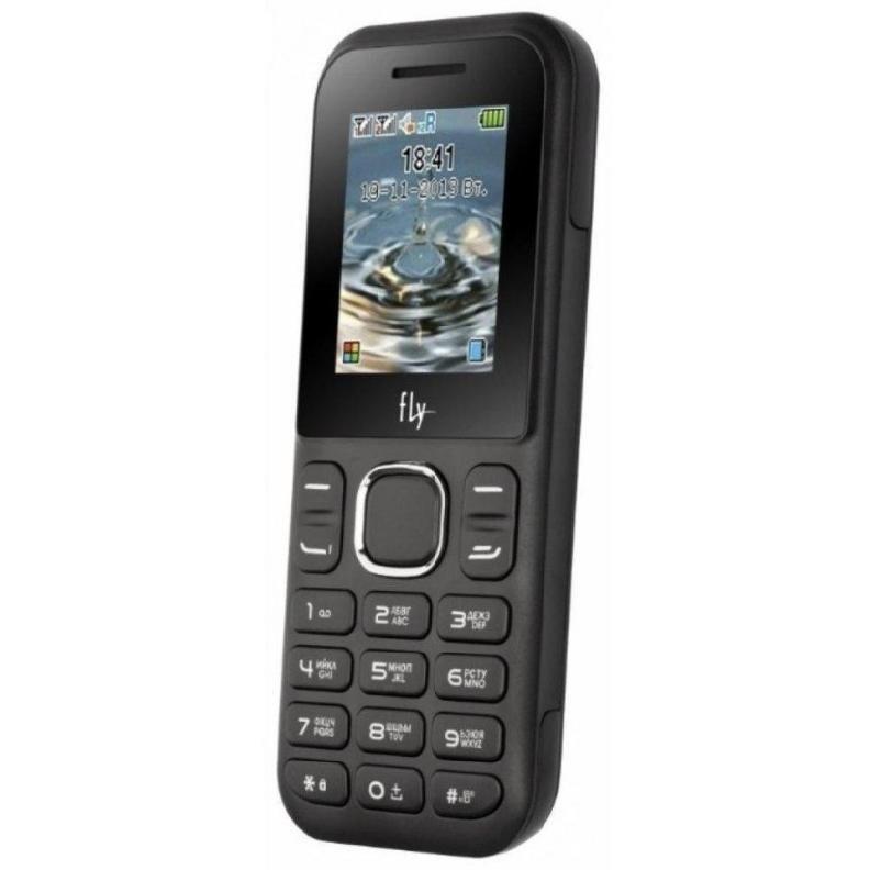 Телефон Fly DS107D 2SIM чёрный