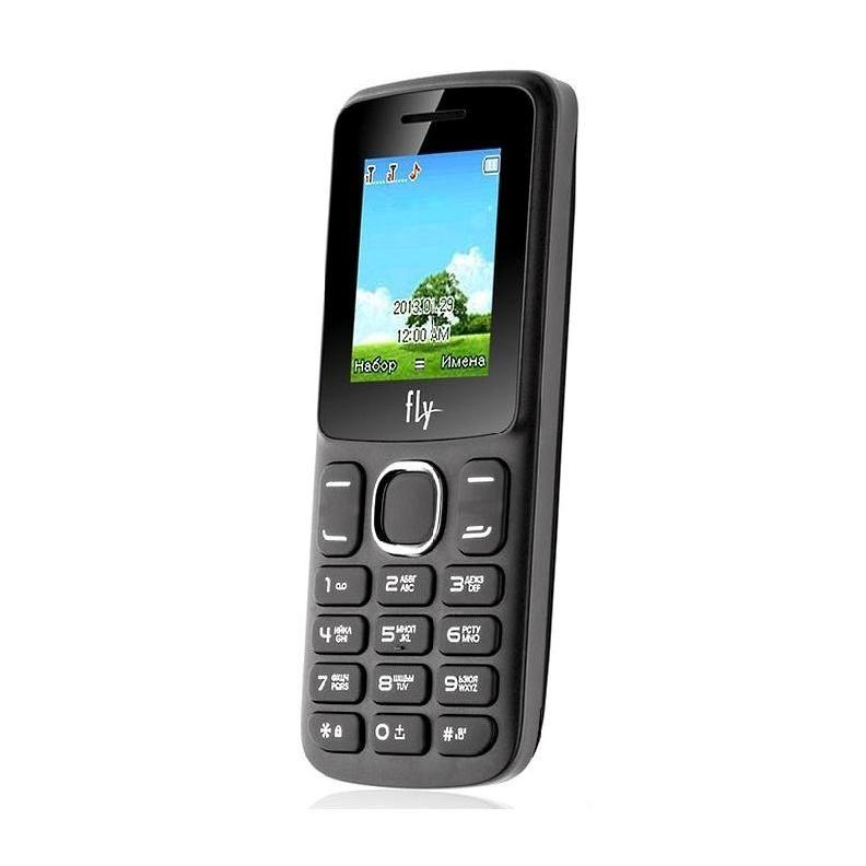 Телефон кнопочный Fly FF179 на 2 сим чёрный