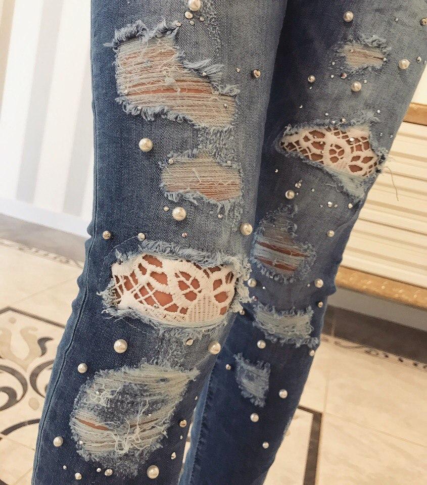 d7cef67231b Стильные джинсы женские (арт. 550193212) - Aleksa - интернет-магазин женской  одежды