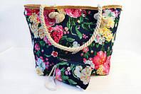 Красочная цветочная летняя женская сумка