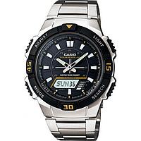 Мужские часы Casio AQ-S800WD-1E Касио водонепроницаемые японские часы