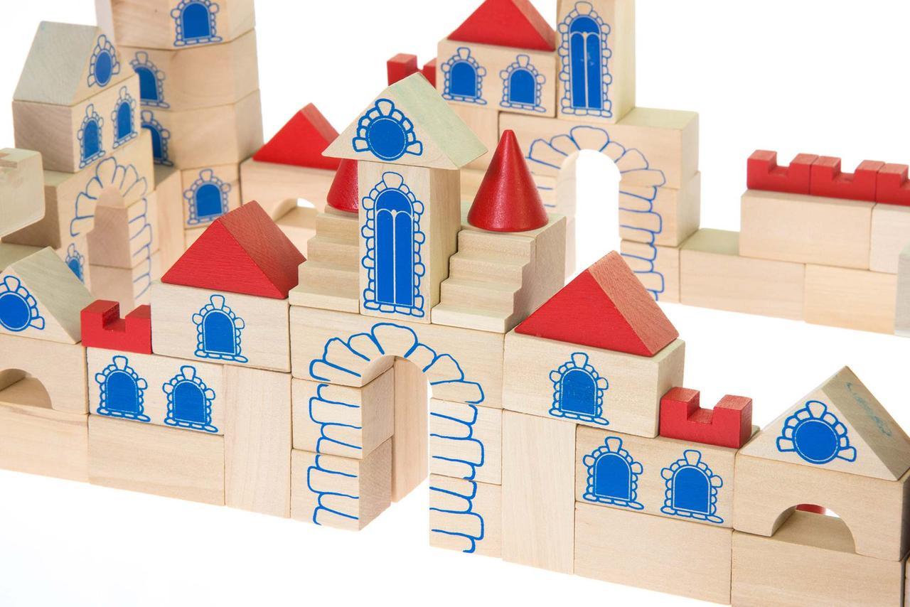 Goki Конструктор деревянный Замок 145 58984