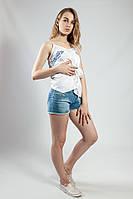 Шорты женские джинсовые летние  Cache-cache