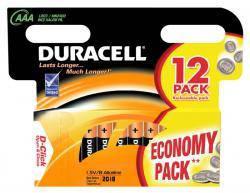 Батарейки AAA Duracell  LR03 MN2400  Alkaline 12шт