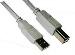 Кабель для принтера USB 2.0 AM/BM 1 метр Alan (AL-AM/BM-10) экранированый