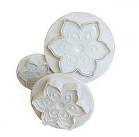 Набор плунжеров для мастики Цветы (Pavoni, Италия)