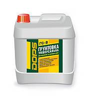Грунт глубокопроникающий DOPS ГС 8 в канистрах по 10 литров