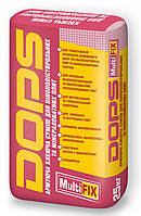 Клей для пенопласта и минеральной фасадной ваты DOPS MultiFIX в мешках по 25 кг