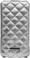 Nuoku ONLY luxury lambskin case for iPhone 4/4S white