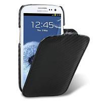 Melkco Carbon fiber Jacka leather case for Samsung i9300 Galaxy S3 black