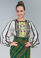 Заготовка Борщівської жіночої сорочки для вишивки нитками/бісером БС-77, фото 1