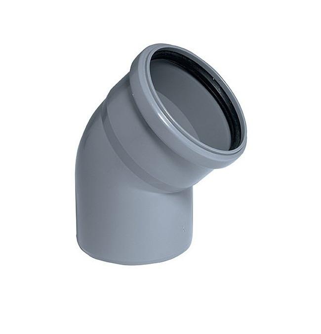 Колено канализационное OSTENDORF HTL DN 110х30