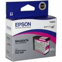 Картридж Epson 3800 розовый