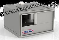 Вентилятор канальный прямоугольный в шумоизолированном корпусе Канал-ПКВ-Ш-100-50-6-380