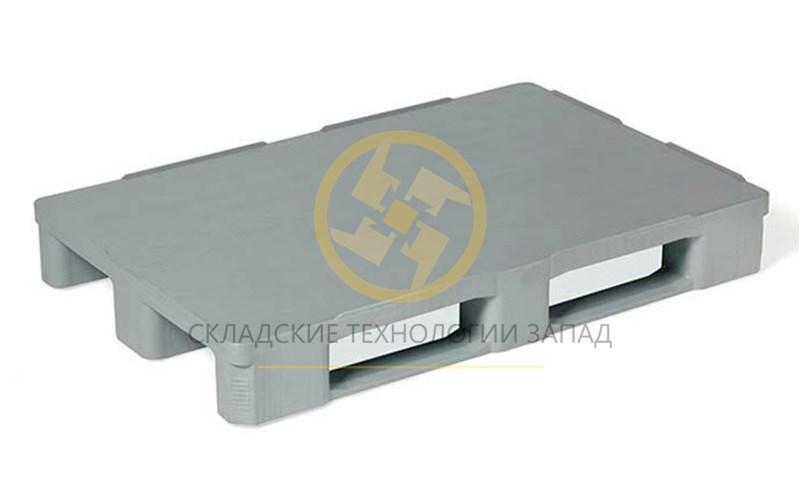 Паллета гигиеническая сплошная на полозях HP1208/V2 1200*800*160
