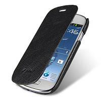 Melkco Book leather case for Samsung i8190 Galaxy S III Mini black