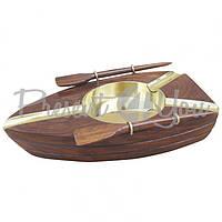 Морской сувенир пепельница  Лодка, 14,5x8,5 см., арт. 9250 Sea Club