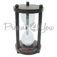 Морской сувенир песочные часы, 5 минут, h-15,5 см., d-8,5 см., арт. 9180 Sea Club