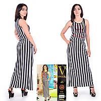 Женское летнее платье в пол. VOGUE 10017-R. Размер 44-46.