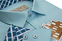 """Рубашка для мальчиков под школьную форму """"Княжич"""" 116-170см"""