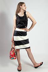 Спідниця жіноча літнє чорно - біла Skunkfunk, фото 2