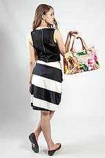 Спідниця жіноча літнє чорно - біла Skunkfunk, фото 3