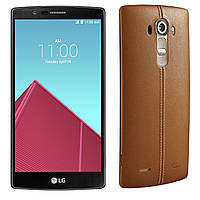 LG H818 G4 Dual Genuine Leather brown