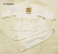 Костюм для новорожденной (03663)