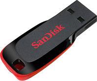 SANDISK 32Gb USB Cruzer Blade Black/red