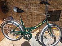 Городской складной велосипед Фермер 24 дюймов 2017