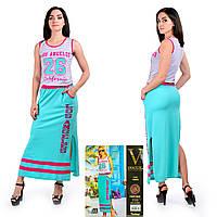 Женское летнее платье в пол. VOGUE 10252. Размер 44-46.