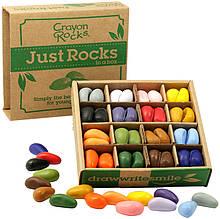 Олівці-камінчики Crayon Rocks 16 кольорів 64шт