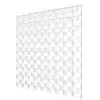 Решетка вентиляционная потолочная 600х600 мм