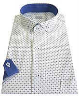 Мужская рубашка с коротким рукавом классическая № 10-29 - 500 V29 RC