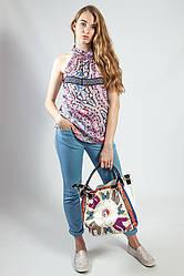 Блуза-туника  женская цветная  CAMAIEU