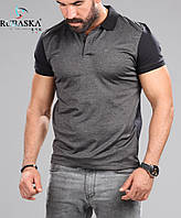 Мужская рубашка - Поло короткий рукав Турция