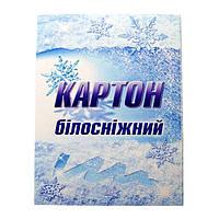Картон белый Бриск УВ-29 ф. А-4, 10 листов