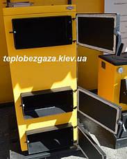 Твердотопливный котел БУРАН МONTEM (с фронтальной загрузкой) 20 КВТ , фото 3