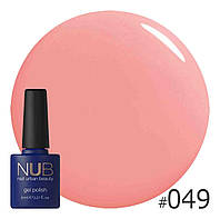 Гель-лак NUB (США) LOVELY PEACH 049  8ml