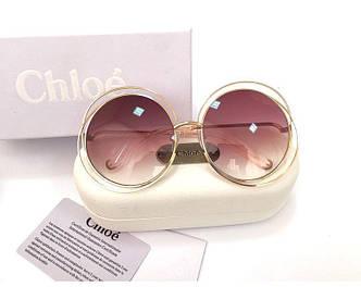 Солнцезащитные очки Chloe (114s) LUX rose SR-655