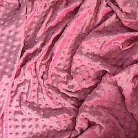 Плюш Minkyцвета розовый лимонад 300 г/м2 № м-56