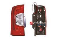 Фонарь задний правый (лядо) б.у., 1358249080, Citroen Nemo, Peugeot Bipper, Fiat Fiorino 2008-