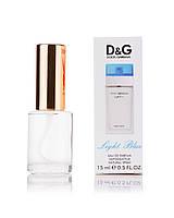 Мини-парфюм женский 15 мл D&G Light Blue