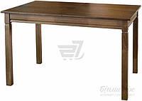 Обеденный деревянный стол раздвижной орех 160 см