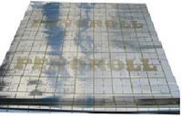 Подложка фольгированная под теплый пол 50м / 100 мкм (Украина)