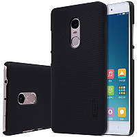 Nillkin XIAOMI Redmi Note 4 Super Frosted Shield Black Чехол Накладка Бампер