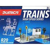 Железнодорожный переезд для разширения дороги Dumica R20, 20398